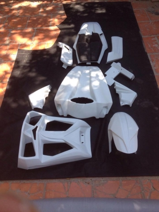 V-Rod Muscle One Fairing Kit