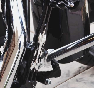 The Fleur Edition Brake Lever - Harley