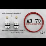AR-70/49A Fork Tube Air Ride Kit 2014 And Up Harley Davidson Baggers