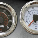 Air Ride Pressure Gauge - Fairing Mount