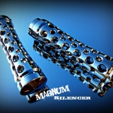 Magnum Silencer Grips - Chrome
