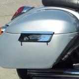 Tsuyaku Quick Detach Hard Bags, Honda VTX1300/1800C