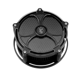 Carbon Tech-Black Label Edition Air Cleaner - Harley