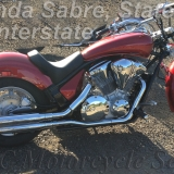 Honda Interstate, Sabre & Stateline Solo Custom C & C Seat