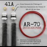 AR-70/41A Fork Tube Air Ride Kit
